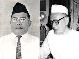 KH Bisri Mustofa dan KH Ali Maksum