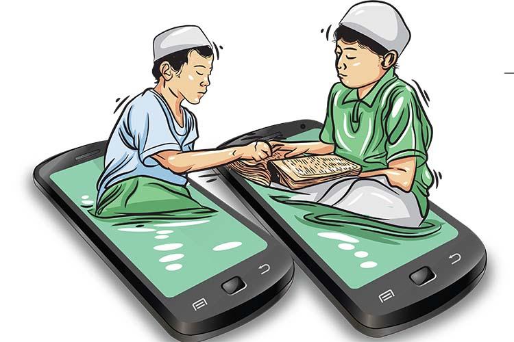 Apabila Kita Terjun Kedalam Mimbar Virtual Agama