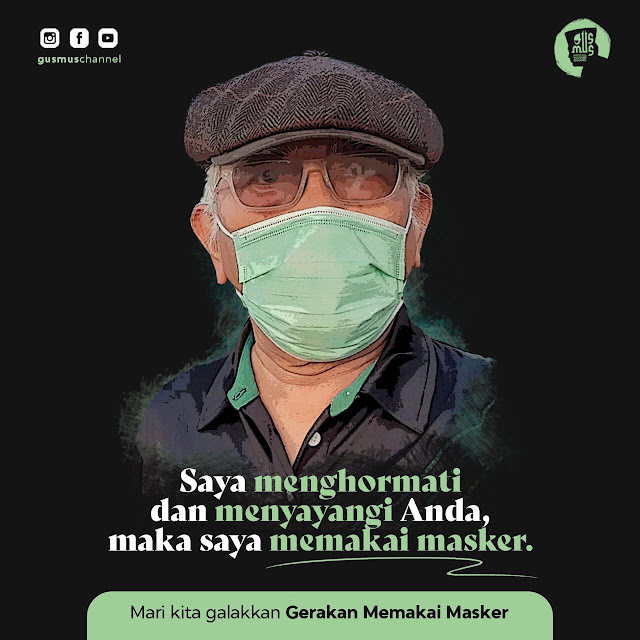 Masker dan Renungan Ihwal Menutup Mulut